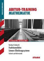 Training Mathematik FOS / BOS / Fachschule / Fachakademie / Funktionenlehre, Lineare Gleichungssysteme