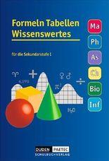 Formeln - Tabellen - Wissenswertes - Mathematik - Physik - Astronomie - Chemie - Biologie - Informatik / Formelsammlung