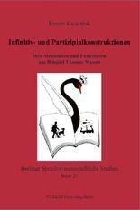 Infinitiv- und Partizipialkonstruktionen