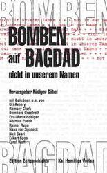 Bomben auf Bagdad - nicht in unserem Namen