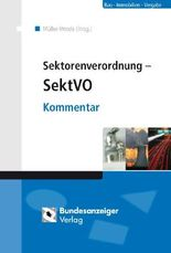 Sektorenverordnung - SektVO
