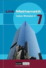 Link Mathematik - Mittelschule Sachsen / 7. Schuljahr - Schülerbuch