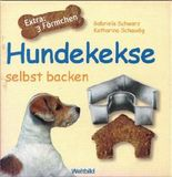 Hundekekse selbst backen - Set mit Buch und 3 Förmchen