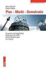 Plan – Markt – Demokratie