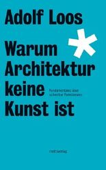 Warum Architektur keine Kunst ist