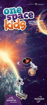 one space kids Weltall Spielatlas - Astronauten, Satelliten, Planeten
