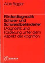 Förderdiagnostik Schwer- und Schwerstbehinderter