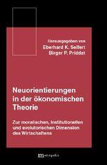 Neuorientierungen in der ökonomischen Theorie