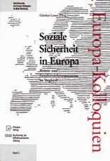 Soziale Sicherheit in Europa
