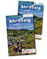 AhrSteig Wandern – Start-Set Buch & Karte 1: 25000. Offizielles Wander-Set zur endgültigen Trasse mit App-Anbindung.