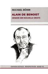 Alain de Benoist: Denker der Nouvelle Droite