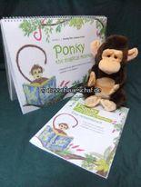 Ponkey the magical Monkey