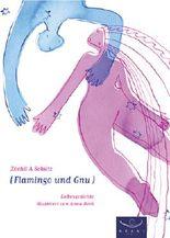 Flamingo und Gnu