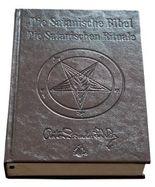 Die Satanische Bibel / Die Satanischen Rituale Ltd. Leder Edition