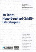 10 Jahre Hans-Bernhard-Schiff-Literaturpreis