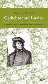 Hoffmann von Fallersleben - Gedichte und Lieder