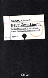 Herr Jonathan ... (unbeabsichtigte Erkenntnisse eines ehemaligen Bibliothekars)