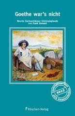 Goethe war's nicht: Krimi