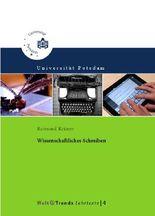 Wissenschaftliches Schreiben