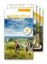 "Moselsteig - PremiumSet. Offizieller Wanderführer mit drei Karten 1:25000, GPS-Daten, Höhenprofile, Online-Anbindung ""Scan to go""."