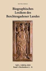 Biographisches Lexikon des Berchtesgadener Landes