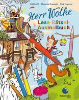Herr Wolke - Lese-Rätsel-Ausmalbuch