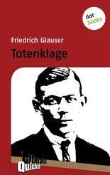 Totenklage - Literatur-Quickie