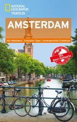 National Geographic Traveler Amsterdam mit Maxi-Faltkarte