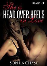 She is HEAD OVER HEELS in love