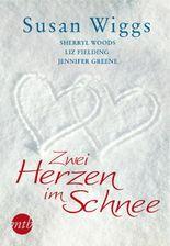 Zwei Herzen im Schnee