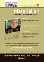 Eugenie Materialien für den Unterricht (SEK1): Fluchtmotive und Asylverfahren in Deutschland, Probleme und Gefühle von Menschen auf der Flucht. (MfU)