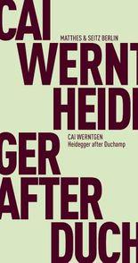 Heidegger after Duchamp