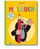 """100-Seiten-Malbuch """"Der kleine Maulwurf"""""""