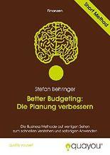 Better Budgeting: Die Planung verbessern