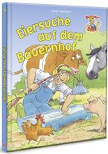 Bauer Bolle Eiersuche auf dem Bauernhof