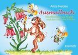 Ausmalbuch: Das Blütenhonig-Rezept und die Tiere des Waldes