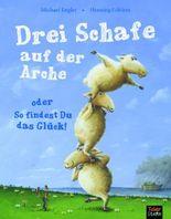 Drei Schafe auf der Arche