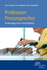 Profession Pressesprecher