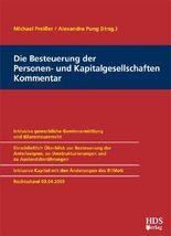 Die Besteuerung der Personen- und Kapitalgesellschaften, Kommentar