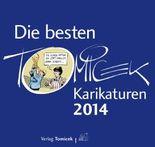 Die besten Tomicek-Karikaturen 2014