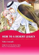 Heir To A Desert Legacy: Harlequin comics