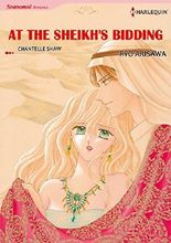 AT THE SHEIKH'S BIDDING (Harlequin comics)