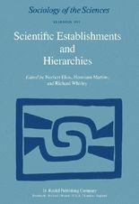 Scientific Establishments and Hierarchies