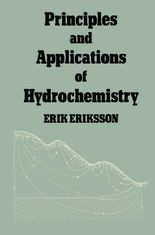 Principles and Applications of Hydrochemistry