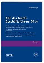 ABC des GmbH-Geschäftsführers 2014