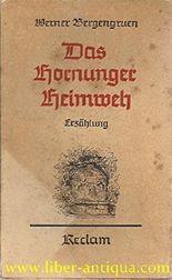 Das Hornunger Heimweh