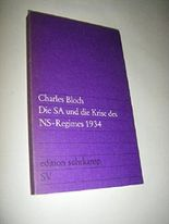 Die SA und die Krise des NS-Regimes 1934