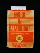 Mord in Cambridge. Kriminalroman. 1. Auflage.