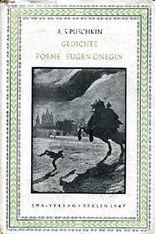 Gedichte Poeme Eugen Onegin