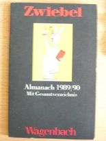 Zwiebel Almanach 1989/90